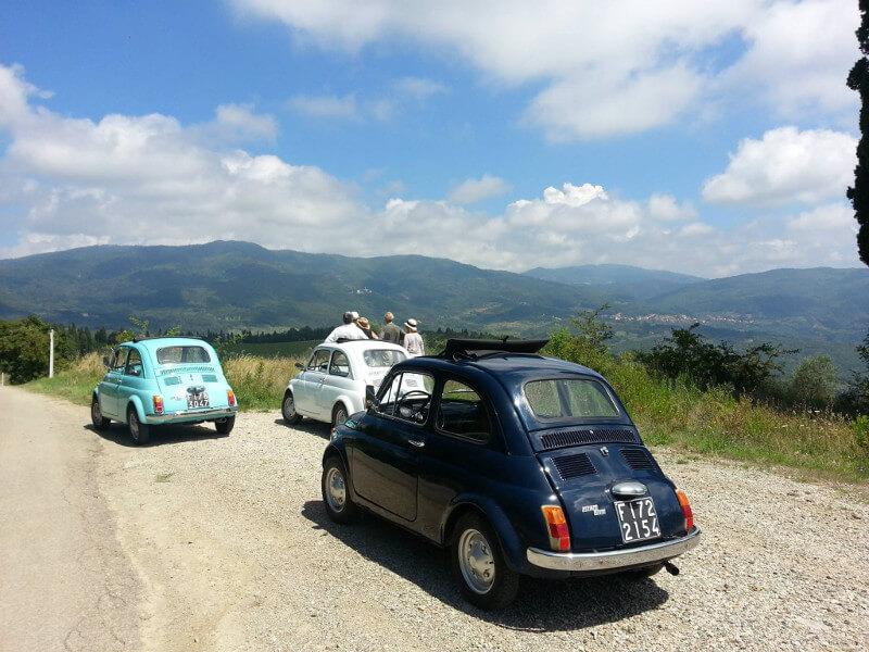 Tuscany Vintage Fiat 500 car Tour