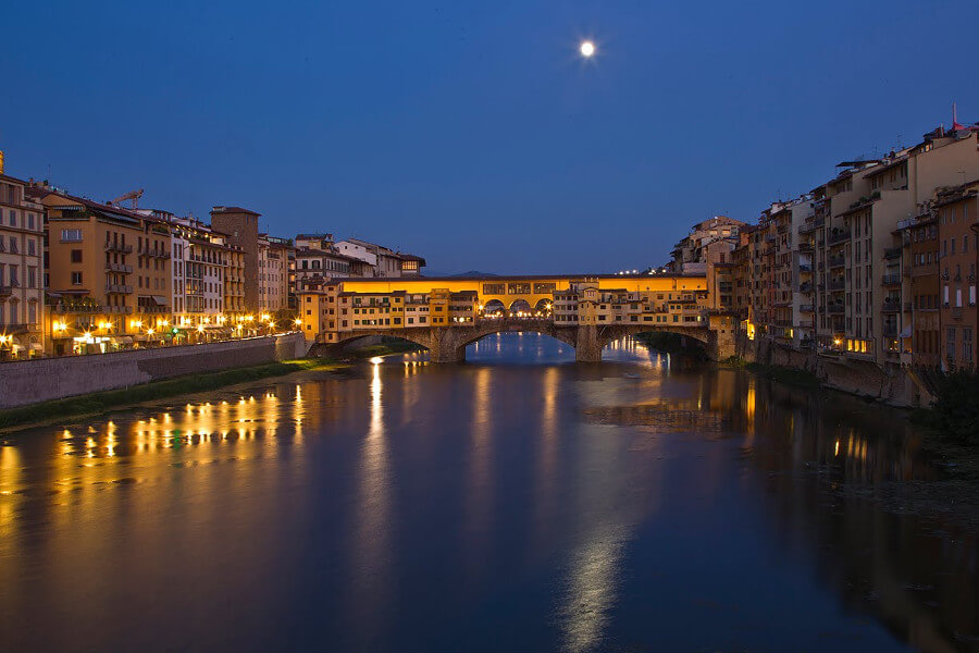 Florence at Dusk & Aperitivo Time