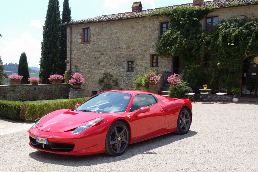 Bespoke Ferrari Tours in Tuscany