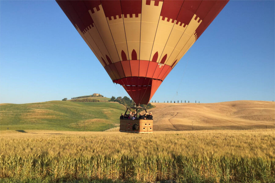 Hot Air Balloon Tour Experience in Tuscany