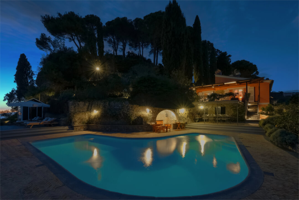 Pool-Luxury-Villa-Portofino-Liguria-Allure-Of-Tuscany