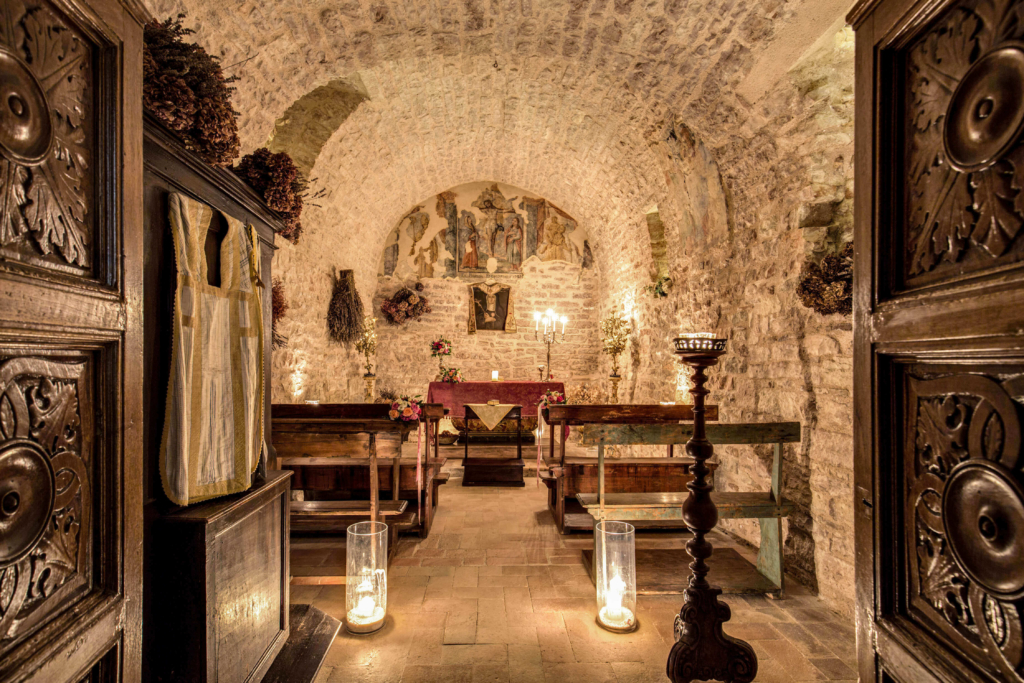 The Castle-Private chapel-Allure-Of-Tuscany