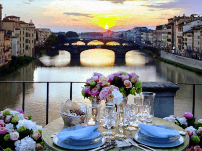 Exclusive Romantic Dinner In Florence-Allure Of Tuscany