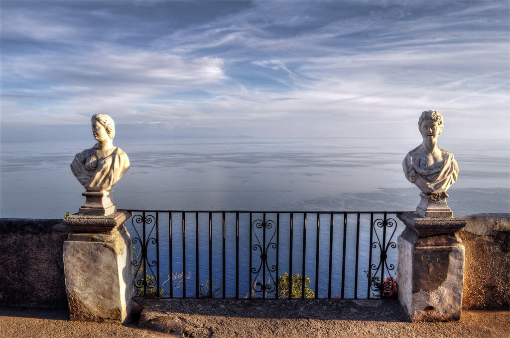Ravello Villa Cimbrone Terrace-Allure-Of-Tuscany