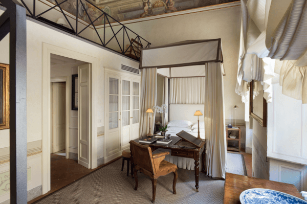 Florence Private Luxury Apartment Bedroom Tuscany