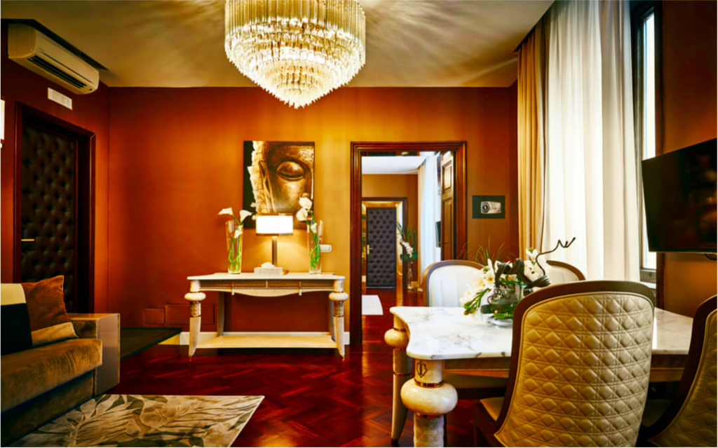 Luxury Private Apartment in Rome- Allure Of Tuscany