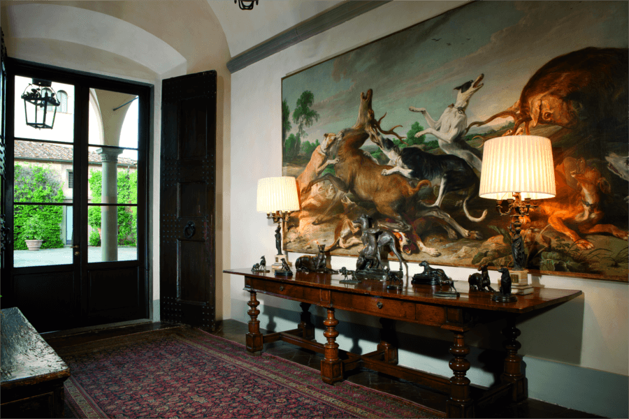 Luxury Villa Florence Entrance Hall Allure Of Tuscany