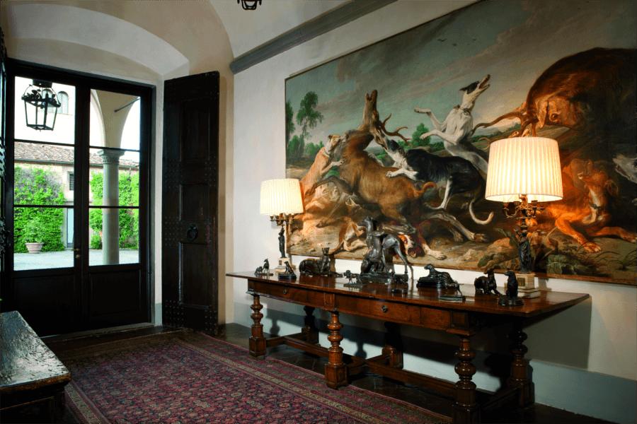 Luxury Villa Florence Entrance Hall Allure Of Tuscany