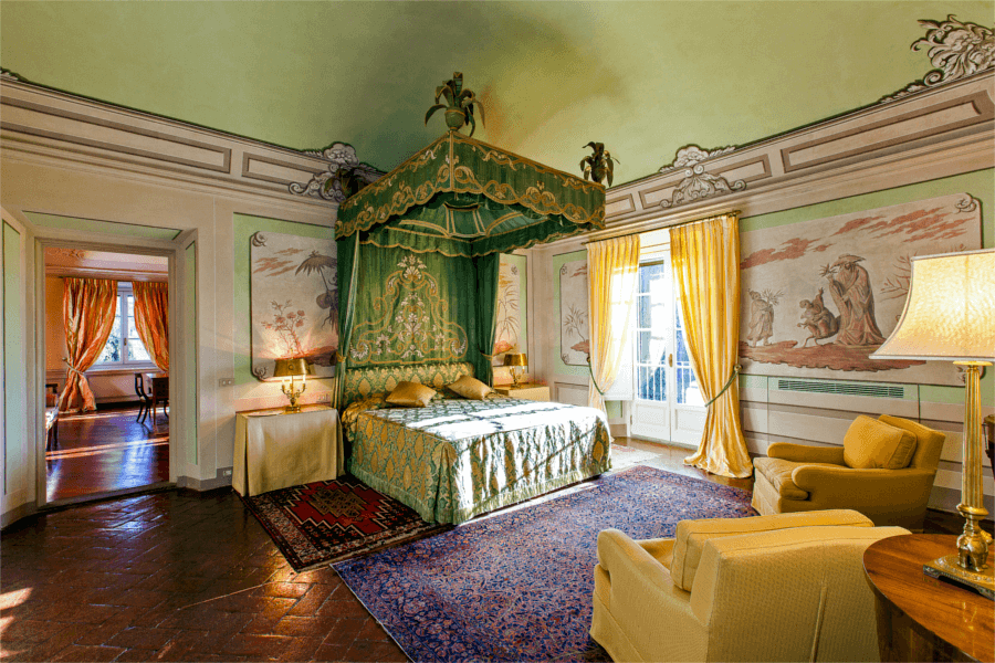 Luxury Villa Florence Oriental Bedroom - Allure Of Tuscany