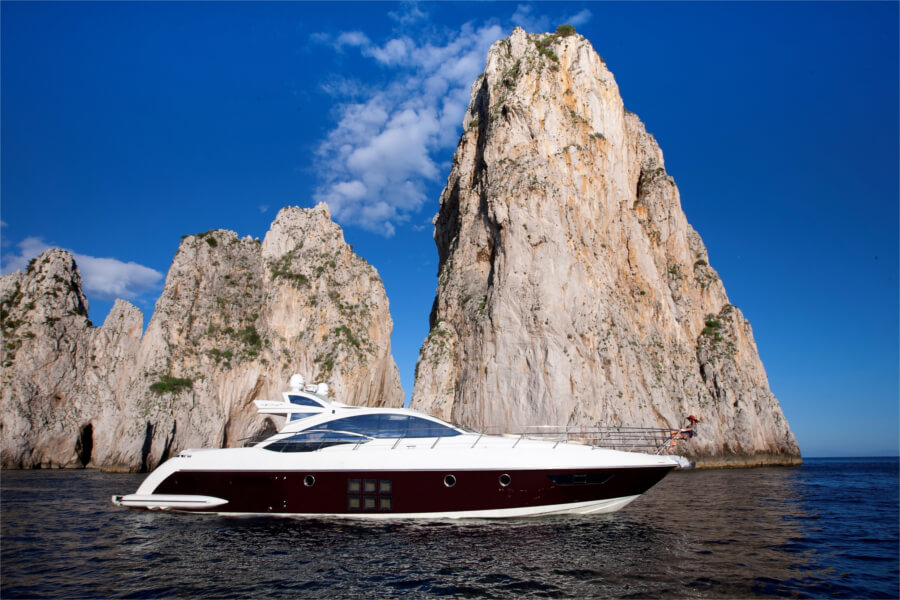 Amalfi Coast Azimut Private Yacht Tour