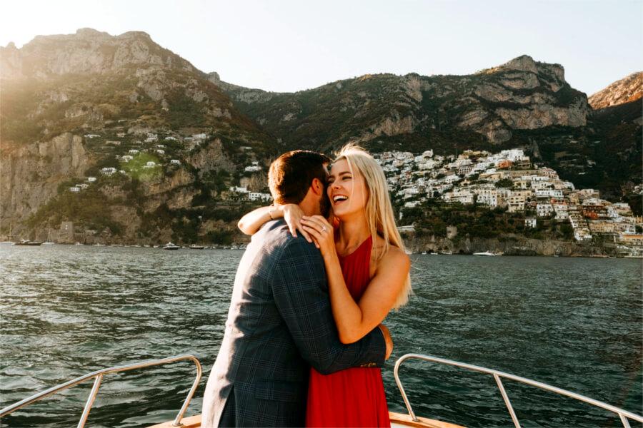 Amalfi Coast Boat Proposal Positano Luxury Tour Allure