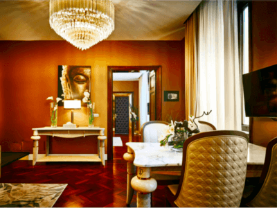 Luxury Private Apartment in Rome-AllureOfTuscany